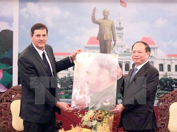 越南珍惜与古巴间的诚挚友好情谊