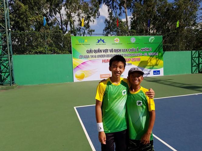 12名越南网球选手参加亚洲U14锦标赛