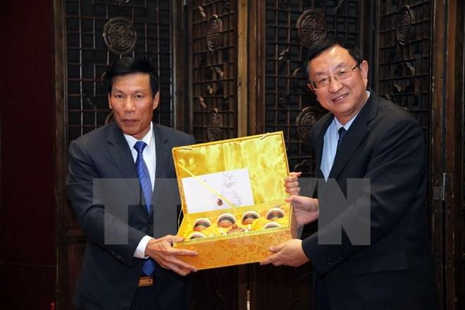 越中传统年画展在中国北京开展