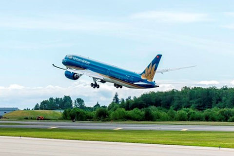 致力发展越南与重点地区的直飞航线