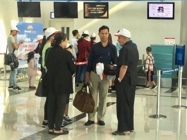 越航将开通芹苴市至台湾(中国)往返客运航线