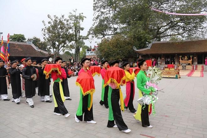 越南多地举行春季庙会开庙活动