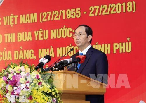 国家主席陈大光出席越南医师节63周年庆典