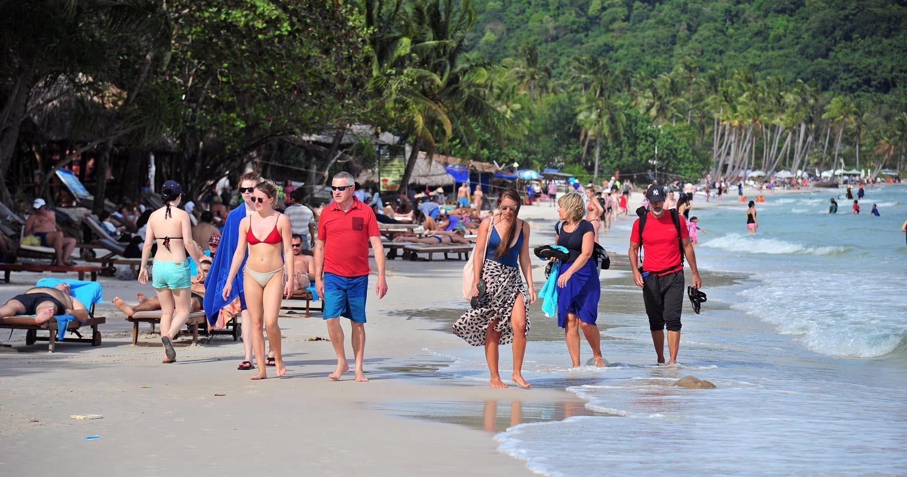 1月份富国岛接待游客量达26万人次