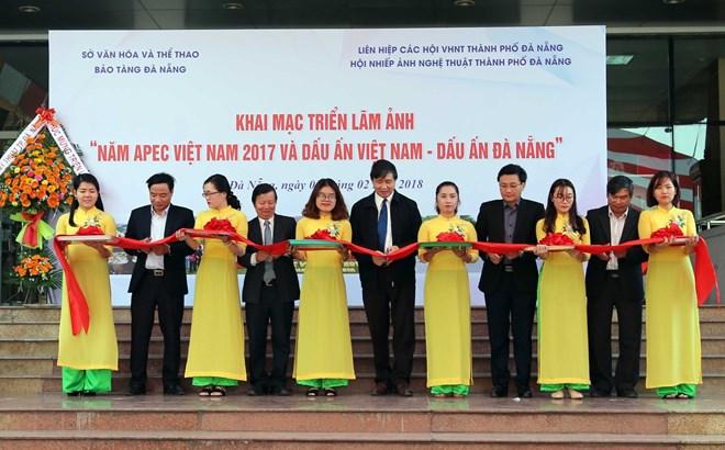 """""""2017年APEC会议:越南与岘港的烙印""""图片展亮相岘港市"""