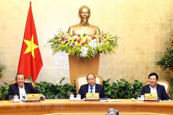 政府总理阮春福主持召开政府常务会议