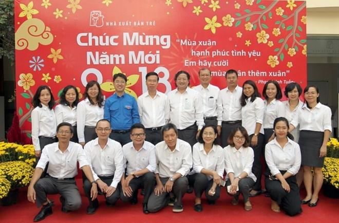 越共中央宣教部部长武文赏莅临胡志明市拜年