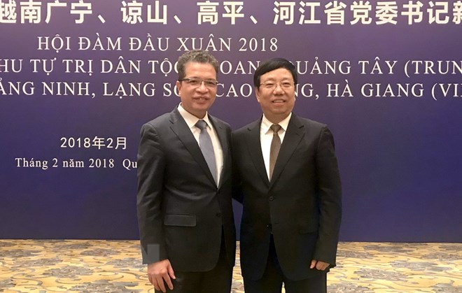 越南边境四省与中国广西合作日益务实有效