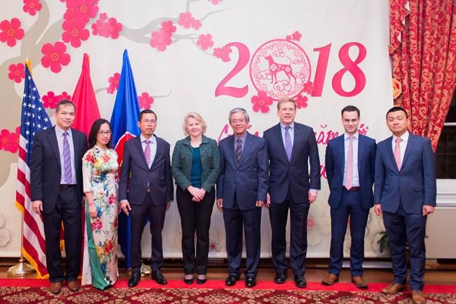 越南与美国加强双边关系