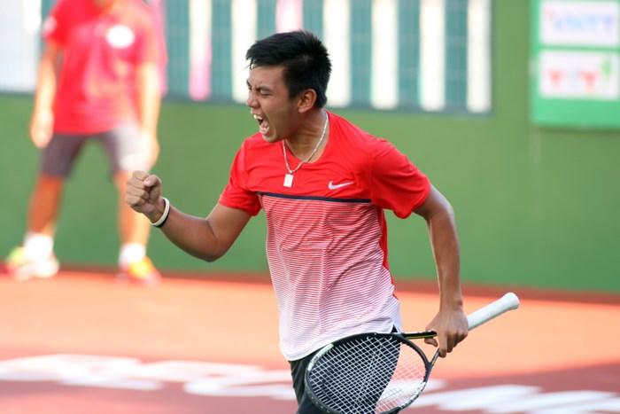 2018年印度男网F2未来赛:李黄南晋级男双1/4决赛
