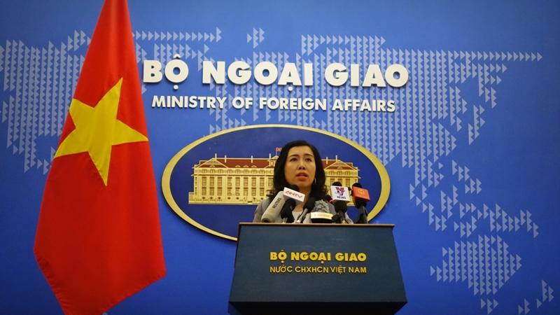 越南坚决反对台湾与中国侵犯越南的主权