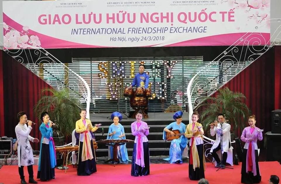 将越南文化推介给国际友人的桥梁