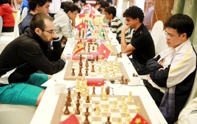 2018年HDBank国际象棋公开赛第5轮:黎光廉找回状态