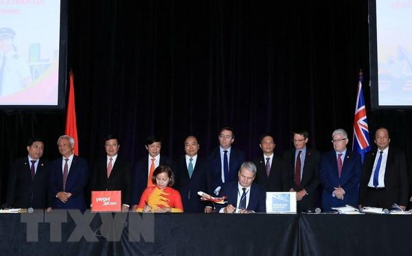 越捷航空公司即将开通越南往返澳大利亚直达航线