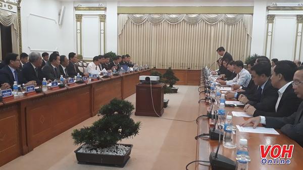 胡志明市和柬埔寨金边市增强多方面合作