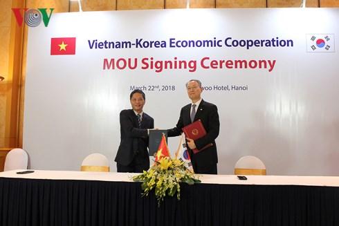 越韩设立两国工贸部和农业部的四方合作机制