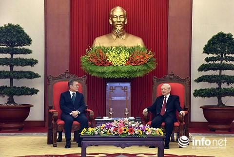 越南重视与韩国的合作关系