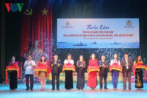 越南海洋海岛图片展在山罗省举行