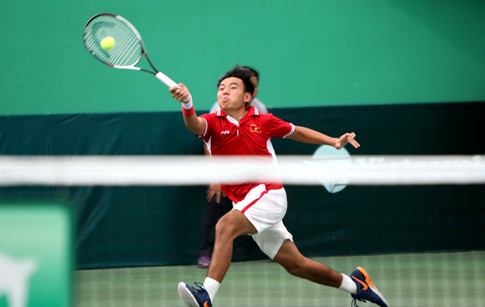 2018年印度男网F2未来赛:李黄南止步男双1/4决赛