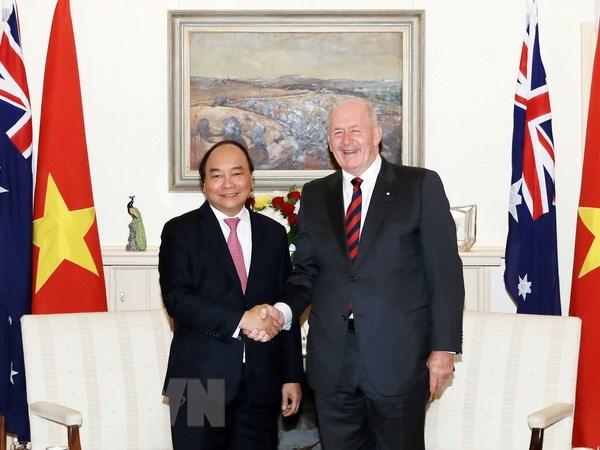 政府总理阮春福会见澳大利亚总督科斯格罗夫