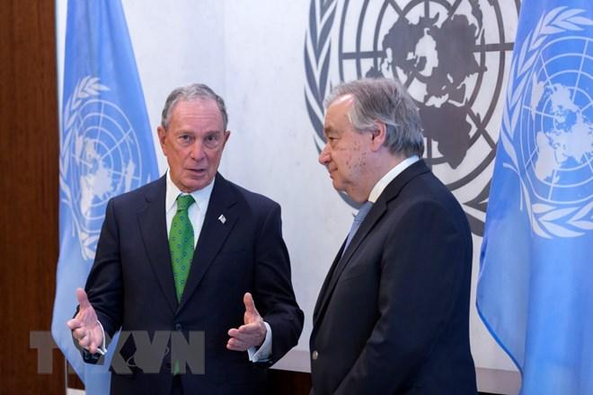 联合国秘书长任命布隆伯格为气候行动特使