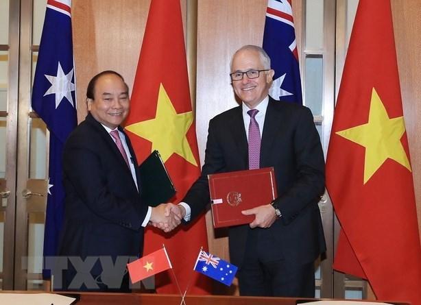 政府总理阮春福圆满结束对新西兰和澳大利亚的正式访问