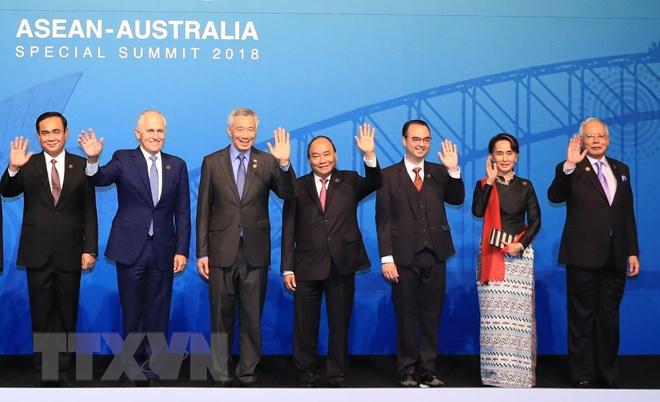 阮春福总理在东盟-澳大利亚特别峰会相关活动上发表重要讲话