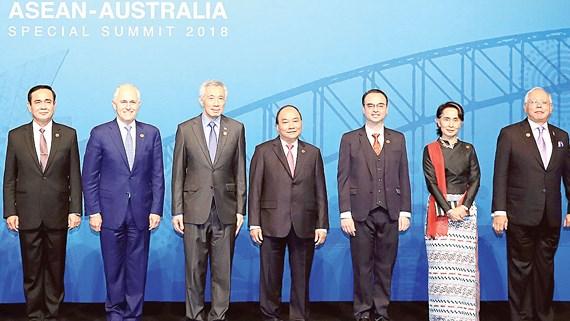 东盟与澳大利亚签署反恐合作备忘录