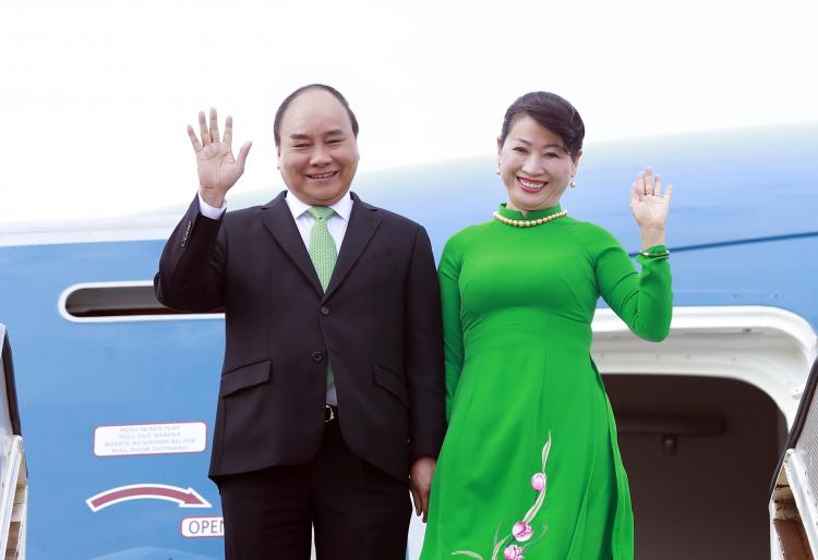 政府总理阮春福启程访问新西兰和澳大利亚