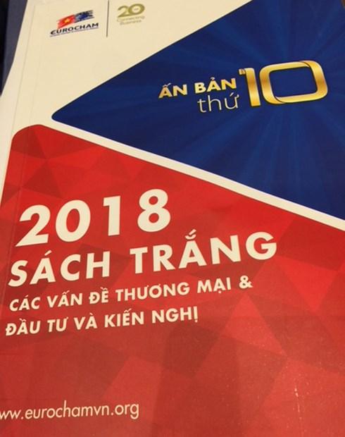 欧洲驻越南商会2018年白皮书:越南拥有许多竞争优势和引资魅力