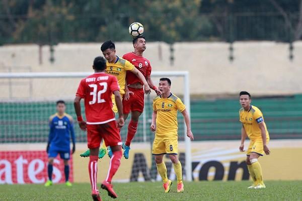 2018赛季亚洲足协杯:宋蓝义安队负于Persija Jakarta队