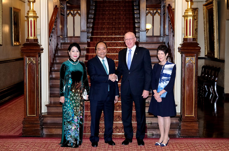 阮春福总理会见澳大利亚新南威尔士州领导人