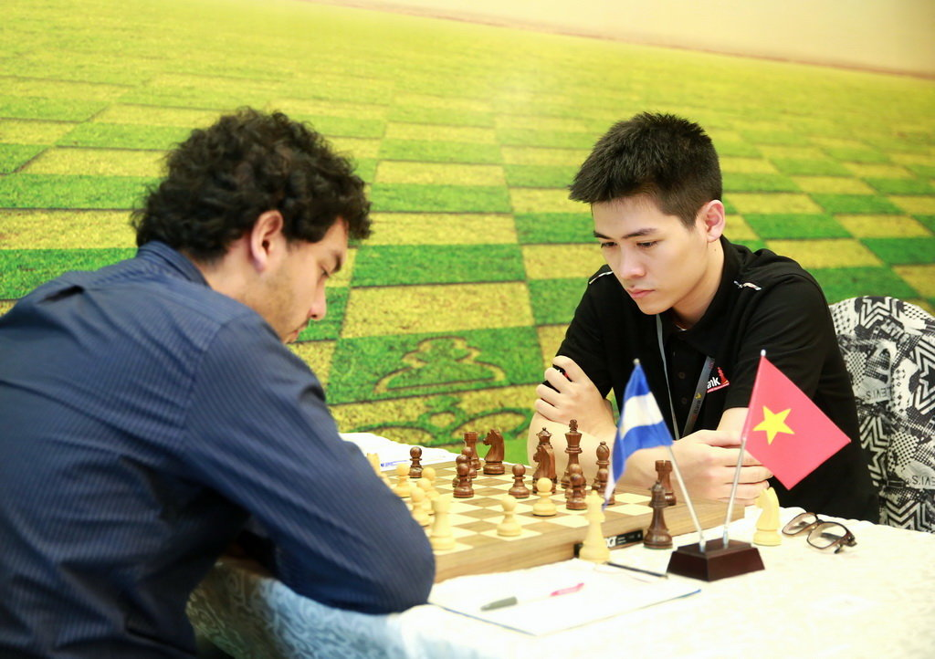 2018年HDBank国际象棋公开赛第8轮:黎俊明有望登顶
