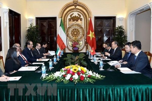 加强越南和科威特间的友好合作关系