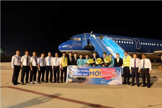 越南芽庄市至韩国首都首尔直达航线正式开通