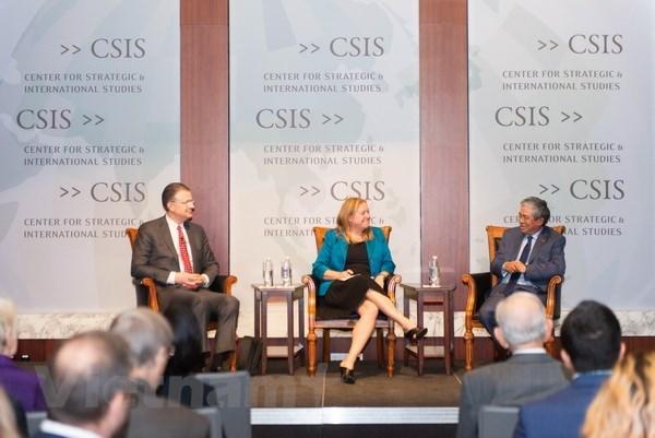 越美在华盛顿举行双边关系对话