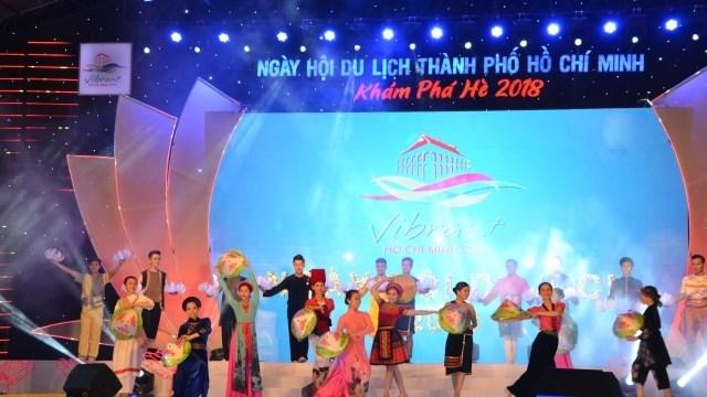 2018年胡志明市旅游节精彩举行