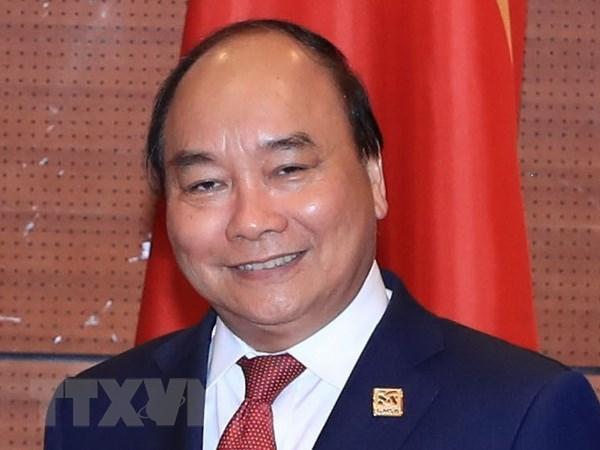 越南政府总理阮春福启程出席第三届湄公河委员会峰会