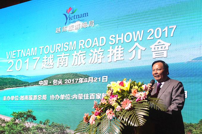在中国四座城市开展越南旅游推介活动