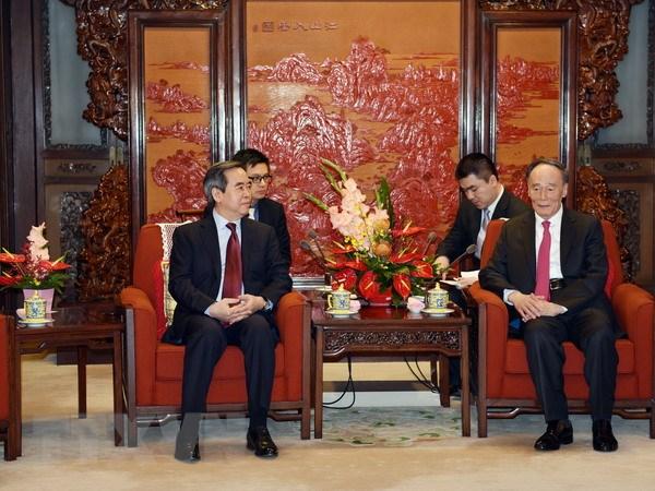 越共中央经济部部长阮文平率团对中国进行工作访问
