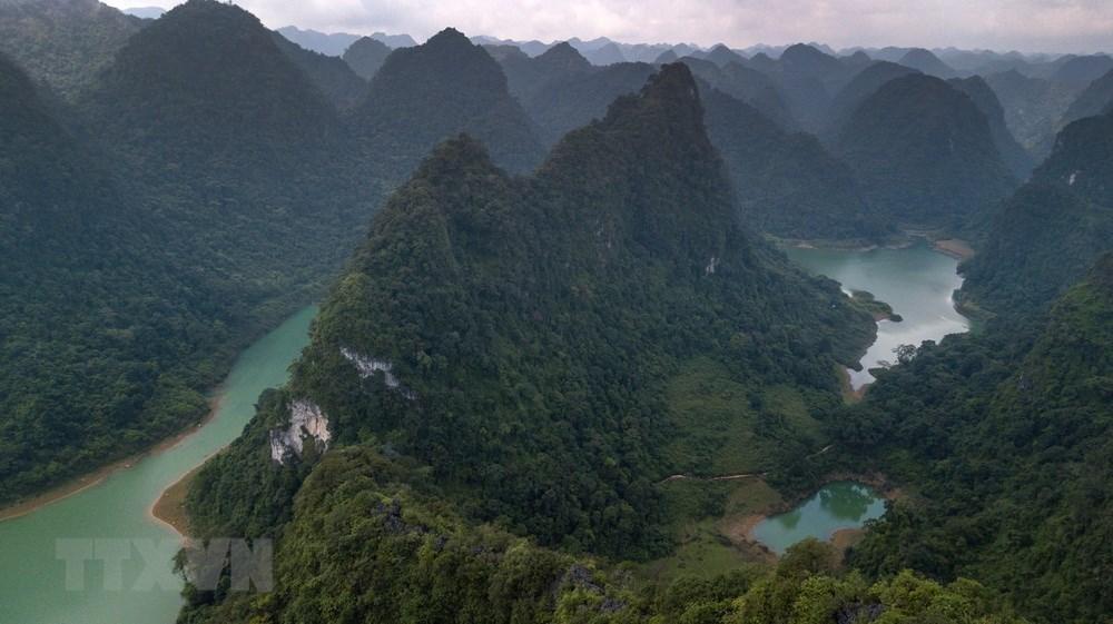 高平省山水地质公园的迷人风光
