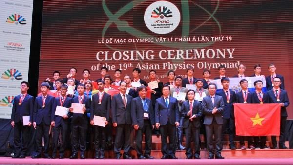2018年亚洲物理奥林匹克竞赛 越南摘四金