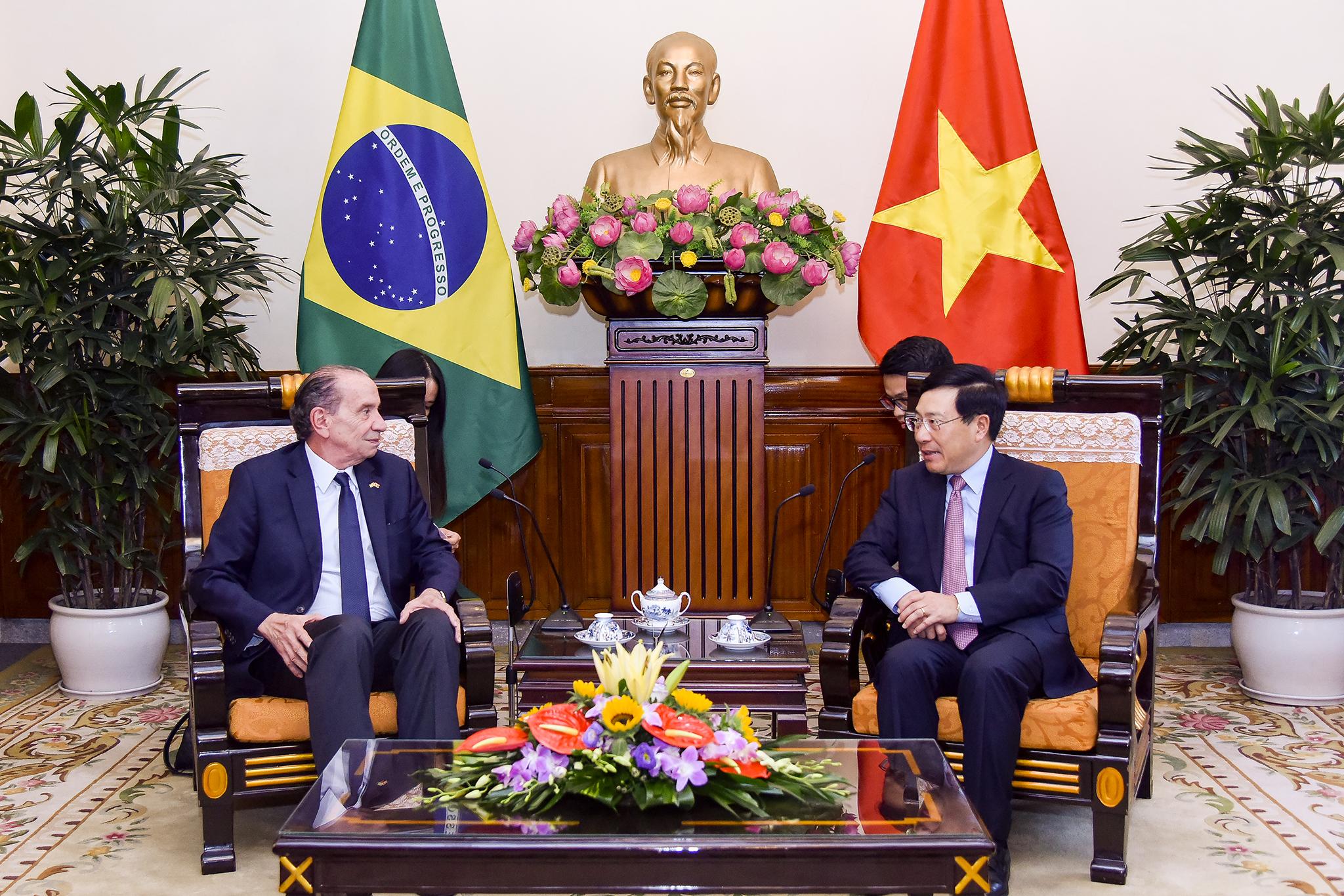越南重视巴西日益提升的国际地位