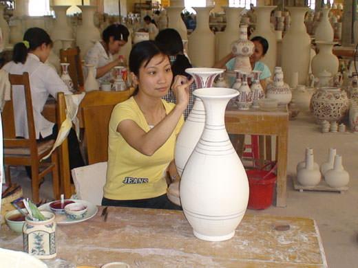舟逗陶瓷——荟萃越南文化精华