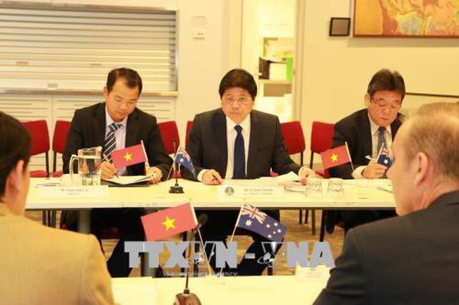 越南与澳大利亚第二次高级农业政策对话会在堪培拉举行