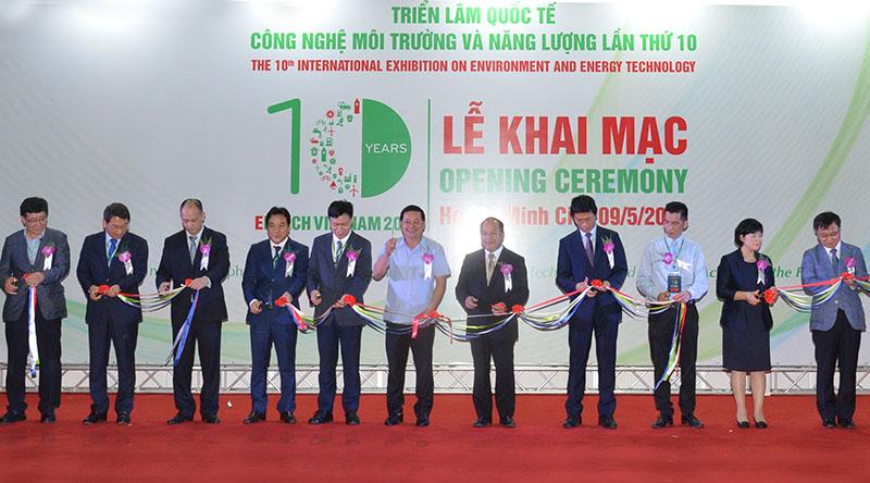 第十届国际环境技术与能源展在胡志明市开展