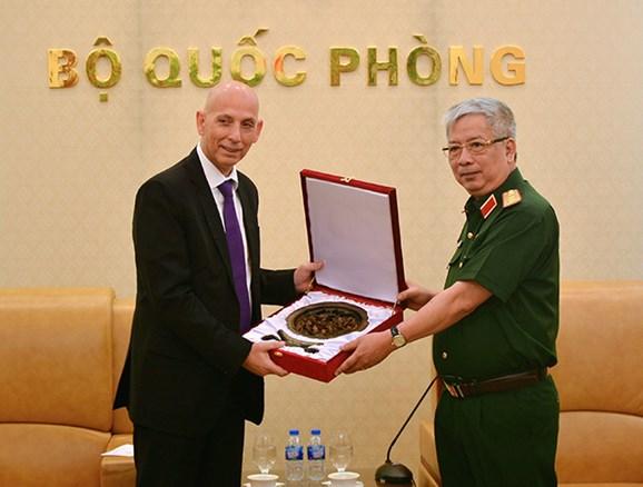 增强越南与以色列间的防务合作