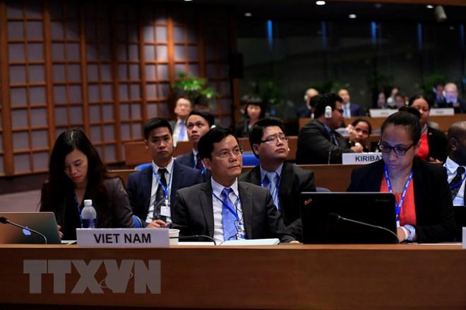 越南参加联合国亚太经社会第74届会议