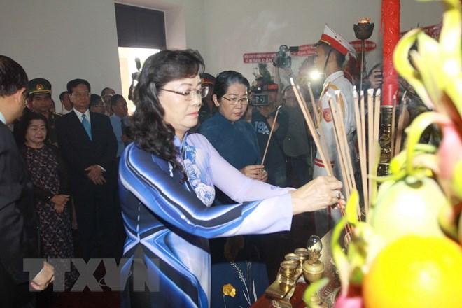 胡志明主席诞辰128周年:胡志明市领导向胡志明主席表达缅怀之情