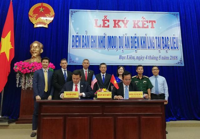 美国公司或将在越南薄辽省投建天然气供应和燃气电厂